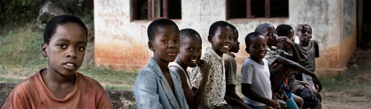 Voluntariado con niños en Africa