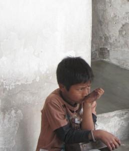 Ayuda a niños en Guatemala