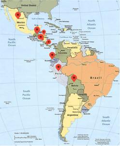 voluntarios Latino America
