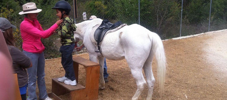 Voluntariado con caballos | Ayudar a niños con discapacidades | Equinoterapia