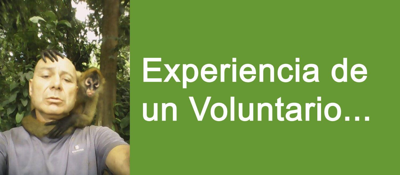 Rafa Voluntario en Costa Rica con animales