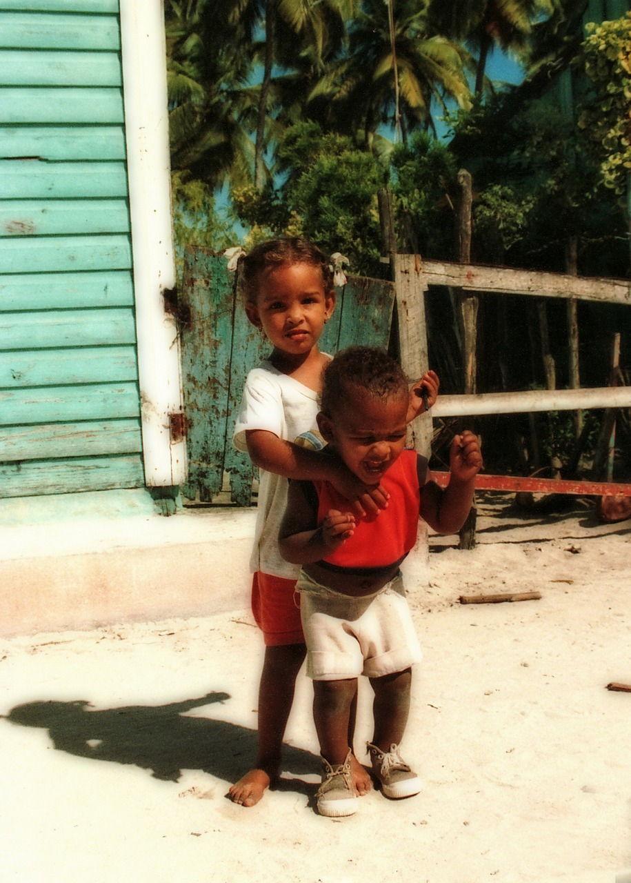República dominicana niños