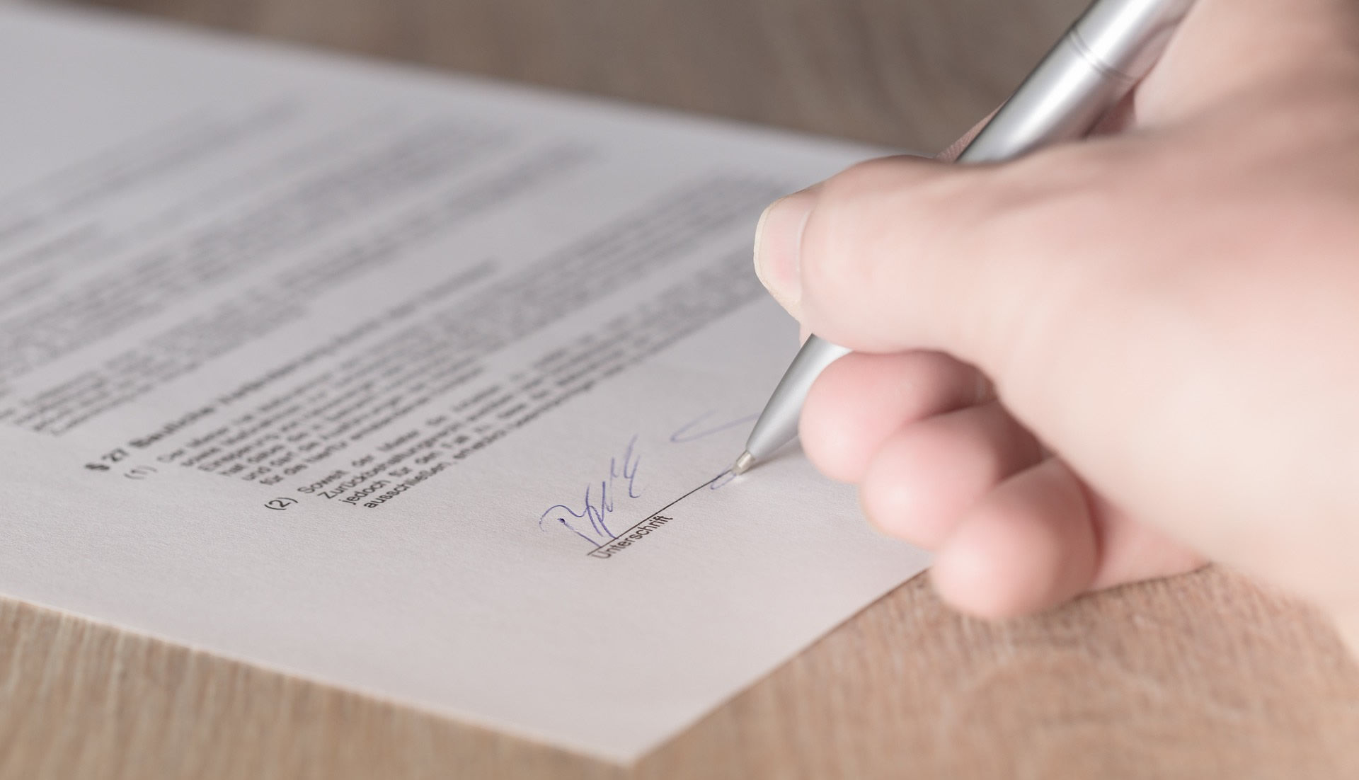 contrato de voluntariado